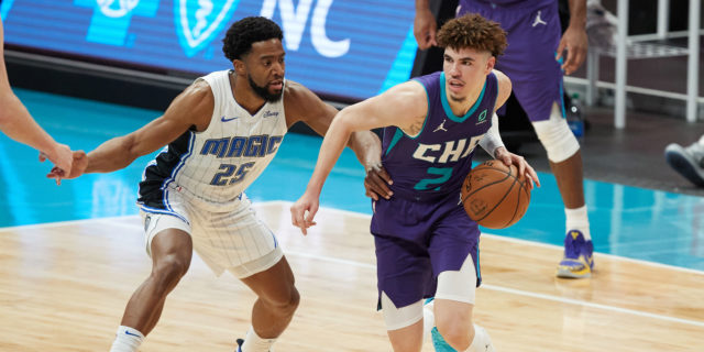 Hornets top Magic 122-112, inch closer to play-in tournament