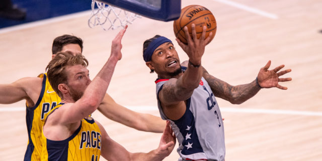 Bradley Beal 'day-to-day' with hamstring strain