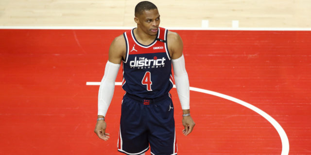Russell Westbrook sets NBA record with 182nd career triple-double
