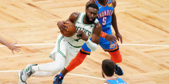 Jaylen Brown out for season with torn ligament in wrist