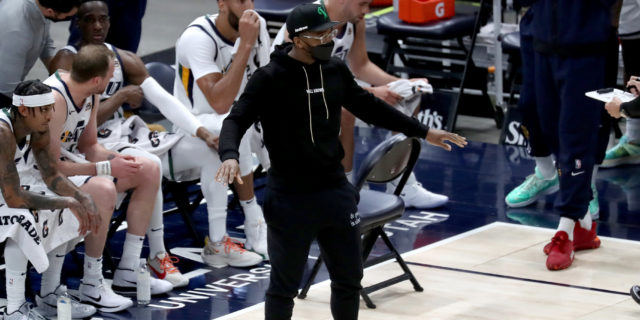 Jazz announce Donovan Mitchell out until playoffs with ankle injury