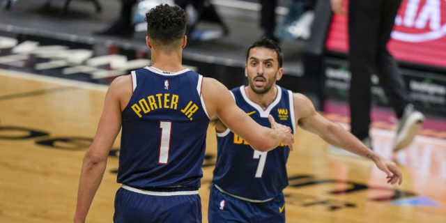 Nuggets beat Hornets, secure home-court advantage in Round 1