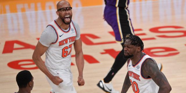 Knicks clinch first playoff berth since 2012-13 season