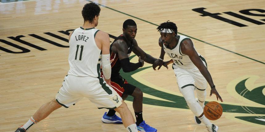 Bucks beat Heat 122-108, maintain bid for East's No. 2 seed