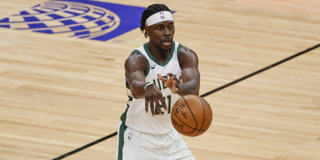 Jrue Holiday eager to help Milwaukee take next step in playoffs
