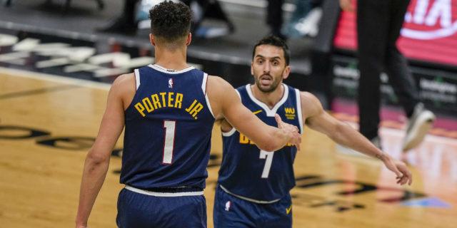 No Murray, no problem: Nuggets roar into playoffs against Blazers