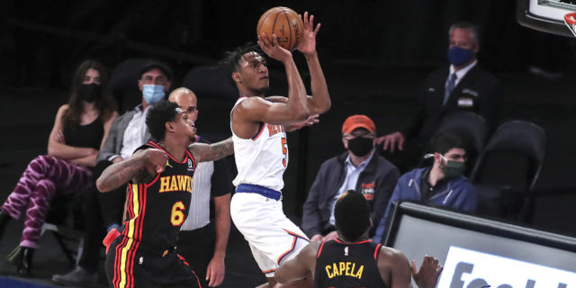 Knicks, Hawks will face off in front of big playoff crowd