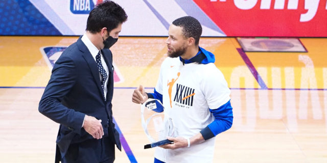 GM Myers confident Warriors will extend Stephen Curry