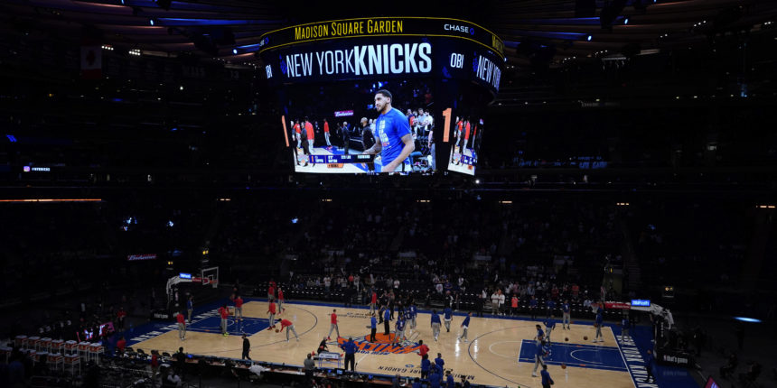 Game 1 of Knicks-Hawks was much-needed return to normalcy for New York