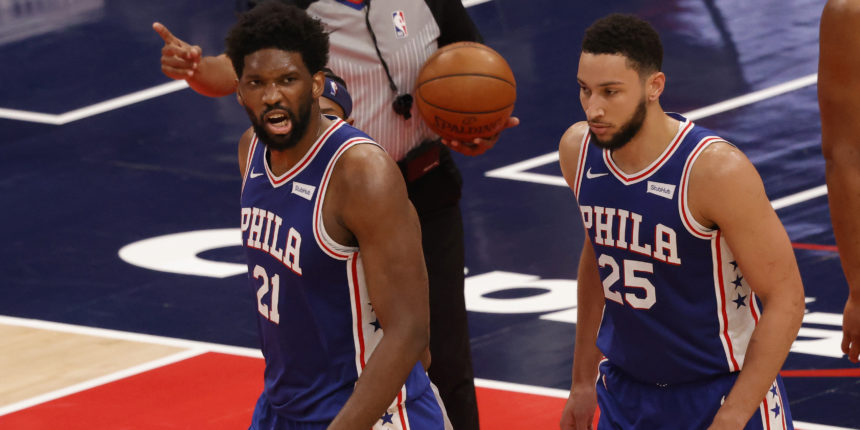 Joel Embiid, 76ers rout Wizards to take 3-0 series lead