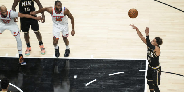 Trae Young leads Hawks to 113-96 win over Knicks, 3-1 series lead