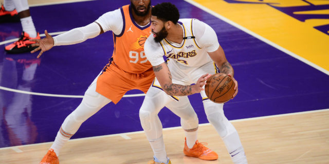 """Anthony Davis """"expected to be held out"""" Game 5 vs. Suns"""