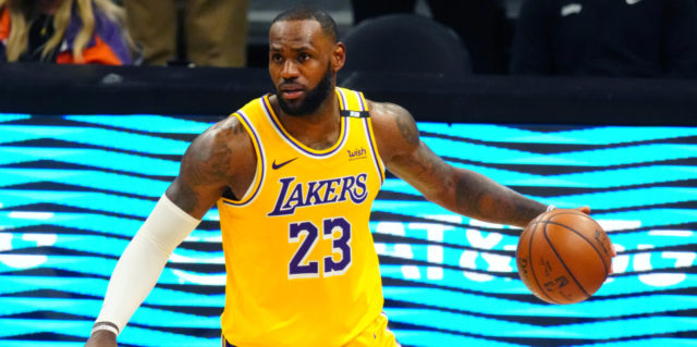 By the numbers: LeBron James in a most unusual position