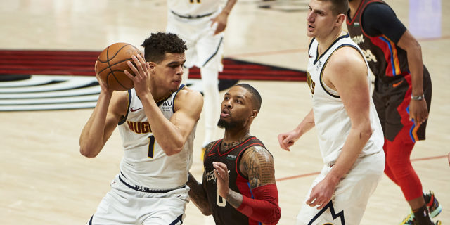 Nuggets eliminate Trail Blazers in Game 6 with 126-115 win