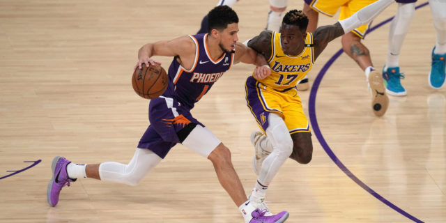 Devin Booker scores 47, Suns eliminate LeBron and champion Lakers, 113-100
