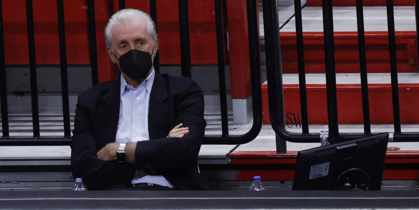In Pat Riley's mind, the first thing the Heat need is some rest