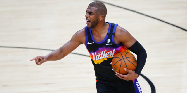 Rejuvenated Chris Paul leads Suns over Nuggets 122-105 in Game 1
