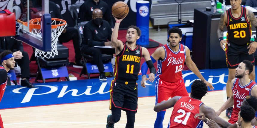 Trae Young shines for confident Hawks under playoff pressure