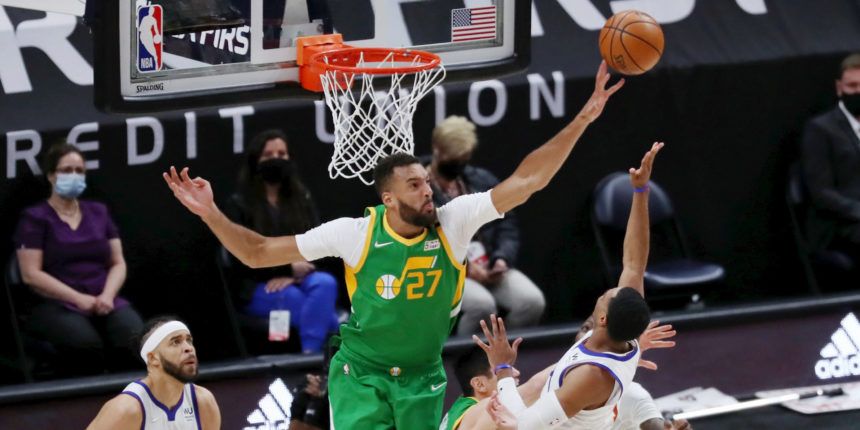 Rudy Gobert wins 2020-21 Defensive Player of the Year award