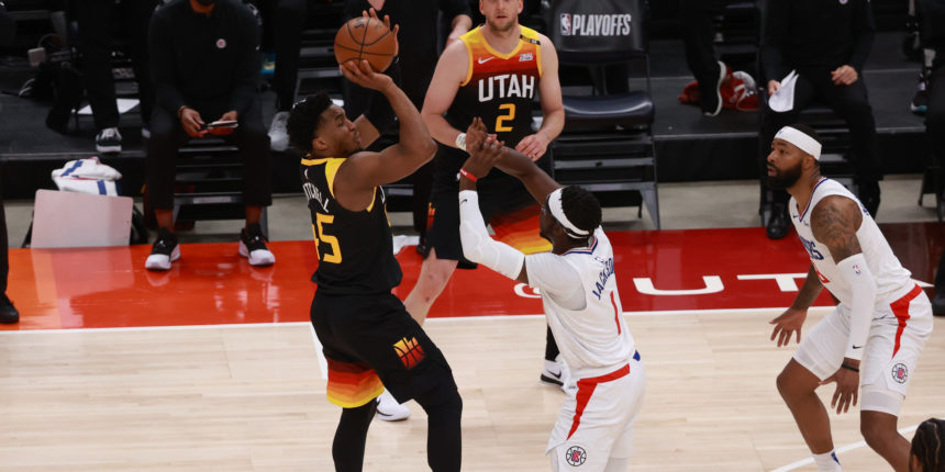 Donovan Mitchell has 37, Jazz beat Clippers 117-111 for 2-0 lead