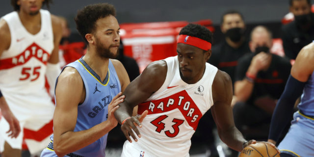 Raptors' Pascal Siakam has shoulder surgery, will miss 5 months