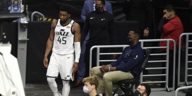 Donovan Mitchell on ankle injury: 'I'll be ready for Game 4'