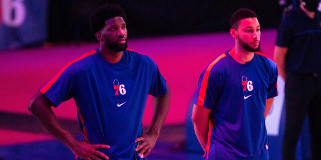 Joel Embiid can only carry Sixers as far as Ben Simmons will let him