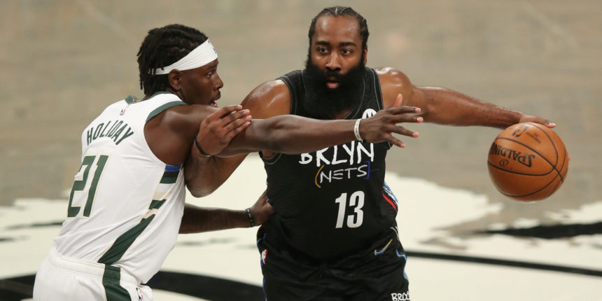 James Harden available, Kyrie Irving out for Game 6 on Thursday