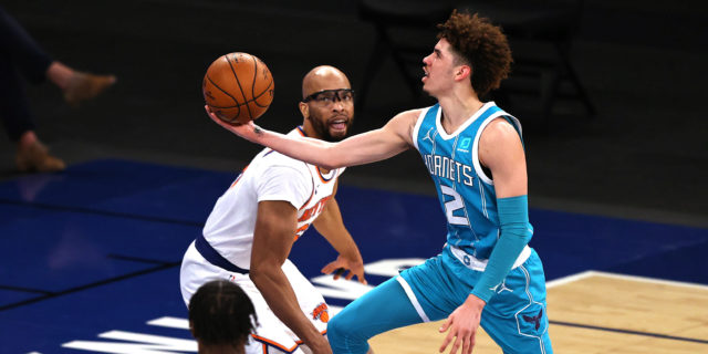 LaMelo Ball wins 2020-21 Rookie of the Year award