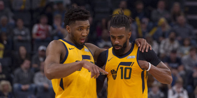 Mike Conley (hamstring), Donovan Mitchell (ankle) questionable for Game 6