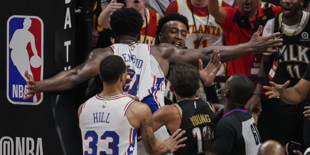 NBA fines 76ers' Joel Embiid $35,000 for Game 6 altercation