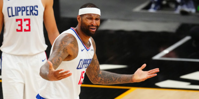 NBA gives DeMarcus Cousins technical foul for postgame shove on Booker