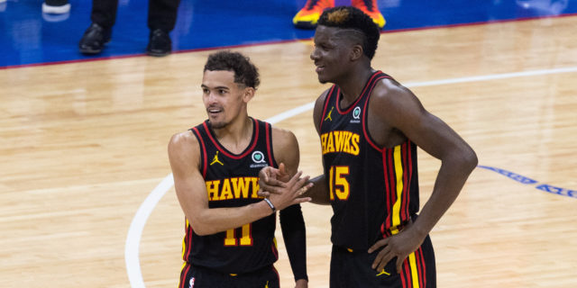 Surprising Hawks feeling confident: 'We're fearless on this stage'