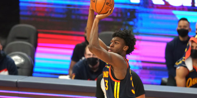 Warriors widely expected to use James Wiseman, No. 7 pick to upgrade roster