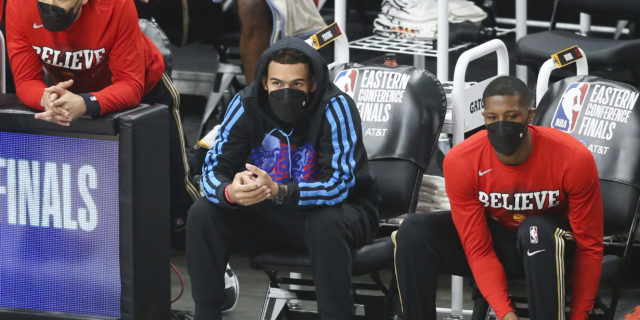 Trae Young (foot) questionable for Game 6 vs. Bucks