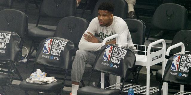 Bucks hope Giannis Antetokounmpo can return for long-awaited NBA Finals