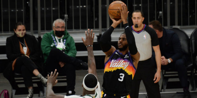 Mid-range jumpers could be the rage during Bucks-Suns in NBA Finals
