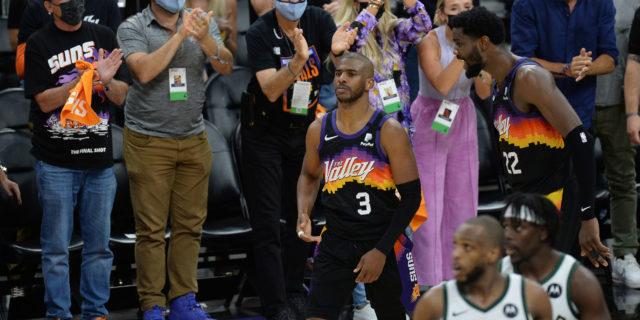 Chris Paul carries Suns past Giannis, Bucks in NBA Finals opener