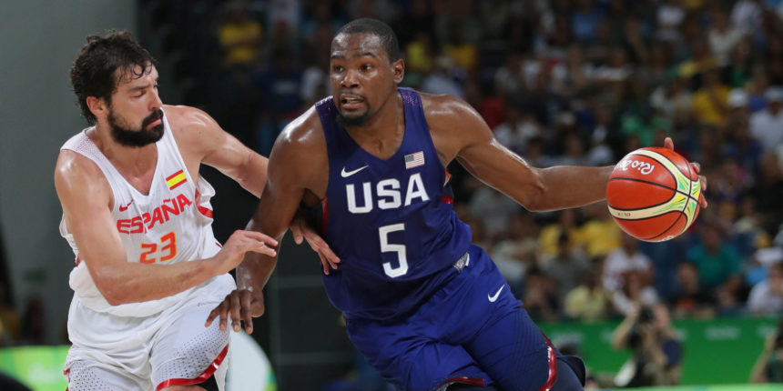Kevin Durant seeking third Olympic gold medal: 'He loves to win'