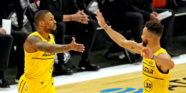 Warriors 'have already internally discussed' trading for Damian Lillard