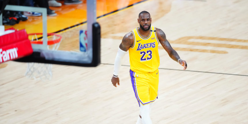 LeBron James wants to finish career with Lakers