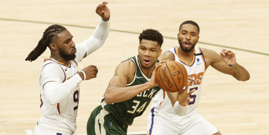The Great Wall of Phoenix? Suns must get innovative to contain Giannis