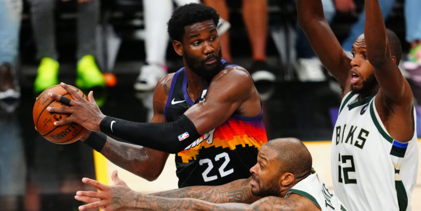 From the Bahamas to the NBA Finals, Deandre Ayton shouldered the load