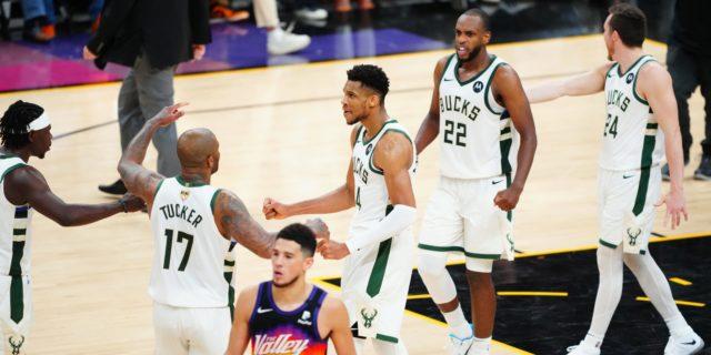Bucks' Big Three clicks, same mental toughness shows in Game 5 win