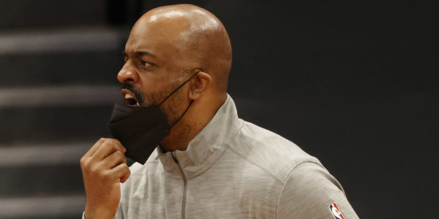Wes Unseld Jr. talking defense as he takes over Wizards job