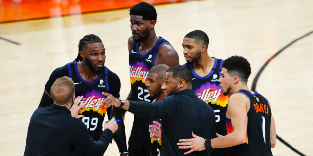 Suns remain upbeat as they face Finals elimination game on road