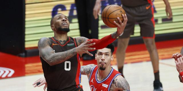 Sixers, Knicks, Heat among five 'aggressive' suitors for Damian Lillard