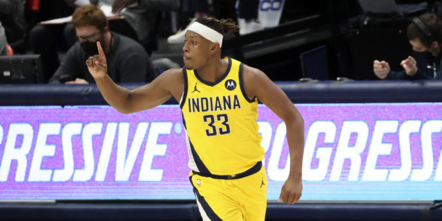 Warriors, Pacers have reportedly discussed trade involving Myles Turner