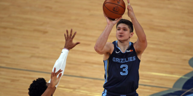Grizzlies trading Grayson Allen to Bucks for Sam Merrill, two second-rounders
