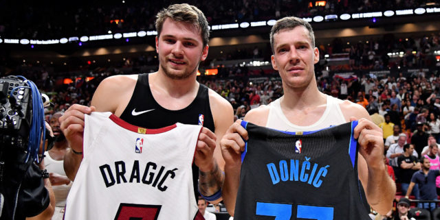 Luka Doncic evades question on Goran Dragic potentially joining Mavs